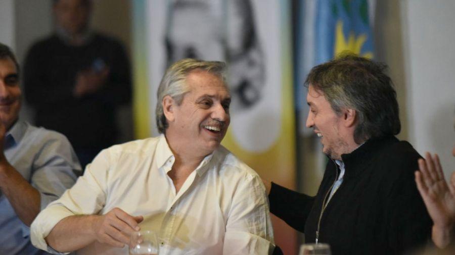"""Alberto y Cristina, en el conurbano, camino a un gobierno de """"transición"""""""