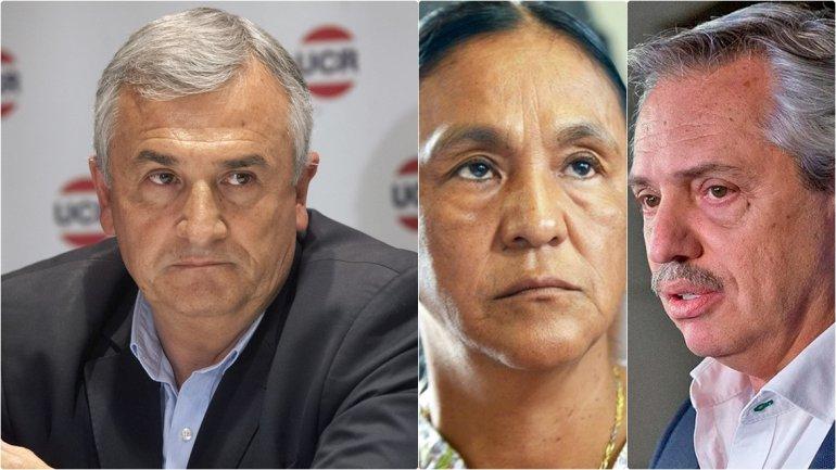 Morales defendió la prisión de Milagro y desvirtuó al Papa, a la CIDH y al CELS