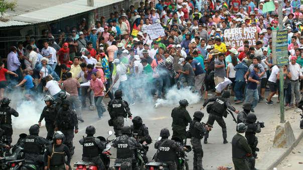¿Guerra civil en Bolivia?