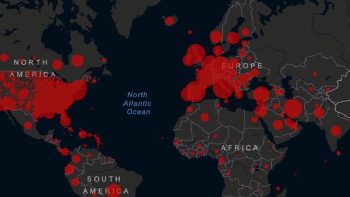 La pandemia afecta a 1,3 millones en el mundo y causa más de 73.900 muertos
