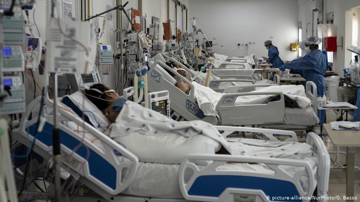 Brasil y Estados Unidos siguen como el epicentro mundial de la pandemia