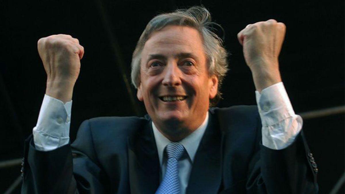 Néstor Kirchner, con brío restaurador