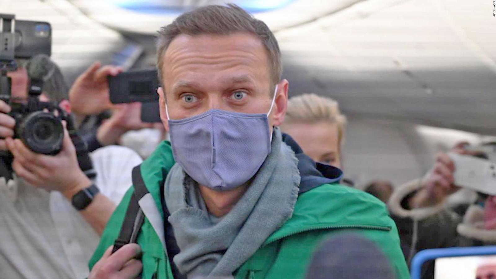 Detuvieron en Rusia al disidente al que quisieron matar