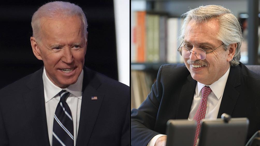 Biden invitó a Fernández a la cumbre de  líderes sobre el clima