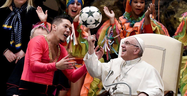 Francisco señaló que no es fóbico a la Argentina
