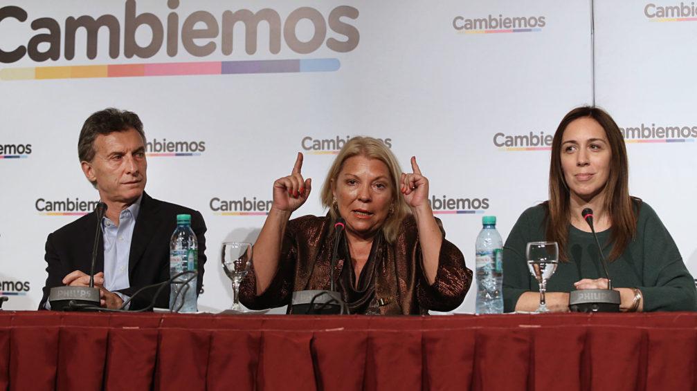 """""""Lilita"""" quiere listas de unidad en JxC y Macri internas """"todos contra todos"""""""
