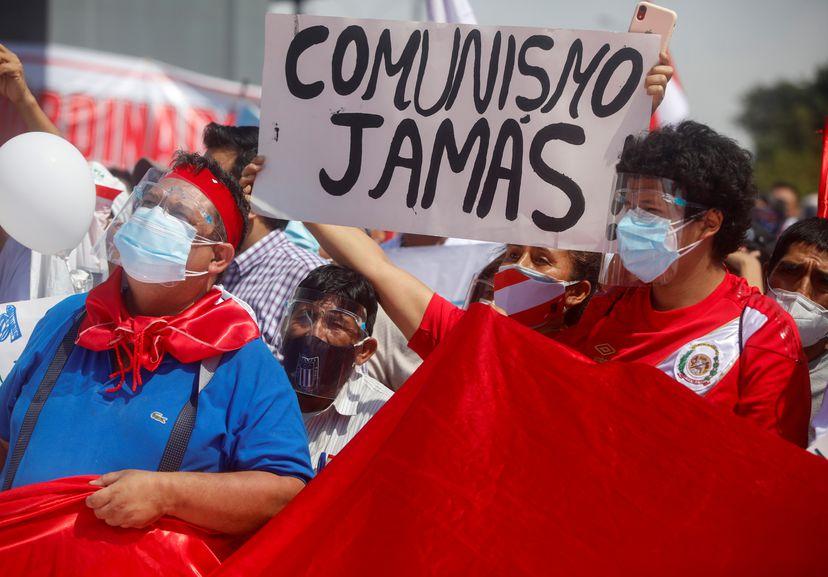 La ultraderecha que apoya a Fujimori, pidió la muerte del izquierdista Castillo