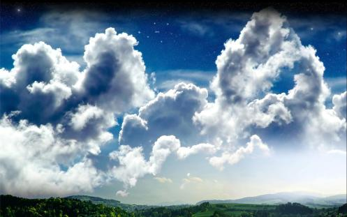 La existencia como un juego de nubes